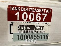 20-Lot Everbilt Close-Coupled & Tank-To-Bowl Toilet Bolt and Gasket Kit 22 pc