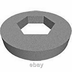 4.3/4 Hex Cutout Foam Doughnut Washer For Close Coupled Toilet Wc Cistern Wdnth