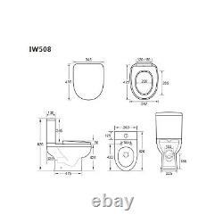 Addison Close Coupled Toilet & Seat BUN/BeBa 26127/76959