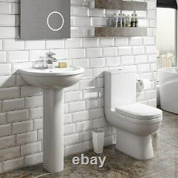 Addison Close Coupled Toilet and Basin Suite