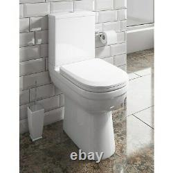 Addison Comfort Height Close Coupled Toilet with Soft Close Seat
