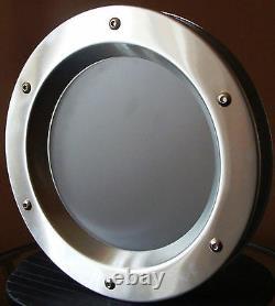 BULL'S EYE FOR DOORS phi 350 mm PORTHOLE FOR DOORS STAINLESS STEEL