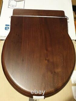 Boyes &co dark teak traditional toilet seat 4 low level toilet not close coupled