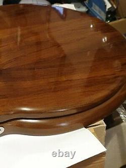 Boyes & co walnut traditional toilet seat for low level toilet not close coupled