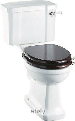 Burlington Rimless Close Coupled Toilets P20 Choice of Cisterns Traditional