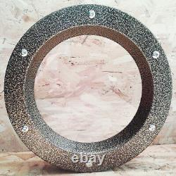 COLORFUL PORTHOLE FOR DOORS STAINLESS STEEL phi 350 mm