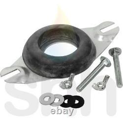 Close Coupled Kit Donut Cistern Toilet Bracket Fixing Kit Wing Nuts Hole 4.5cm