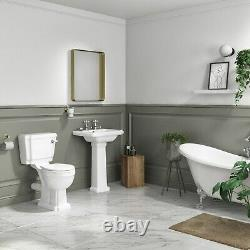 Close Coupled Toilet with Soft Close Seat Park Royal