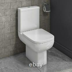 Close Coupled Toilet with Soft Close Seat Seren
