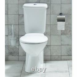 Creavit Disabled Doc M Close Coupled Toilet Comfort Height Pan PTrap soft Seat
