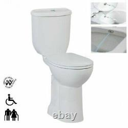 Creavit Disabled Doc M combined Bidet Close Coupled Toilet pan wc Comfort Height
