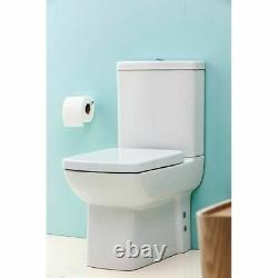 Creavit Lara Combined Bidet Back to wall WC pan close coupled toilet soft close