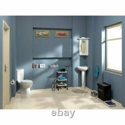 Creavit Sedef Combined Bidet Corner Close Coupled Toilet pan Spac Saving WC seat