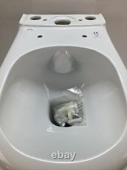 Deluxe Rimless Toilet Close Coupled Fully BTW Pan & Cistern EC1020 + EC1021