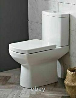 Doc m Comfort Height Disabled Compact Close Coupled Toilet Pan Quick Releas Seat