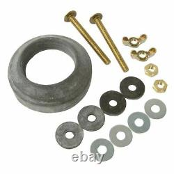 DoitBest 436860 Close Coupled Tank-to-bowl Extra Thick Gasket & Bolt Kit, FS