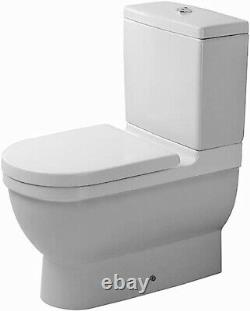 Duravit Starck 3 Close-Coupled Toilet Bowl Dual Flush White