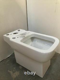 Essential Fucshia Close Coupled Toilet Pan EC4003 (Toilet Pan Only)