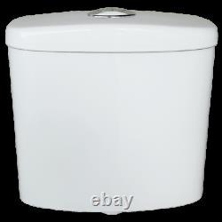 Estilo WELS 4 Star 4.5L/Full-3L/Half Flush White Close Coupled Vitreous China