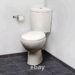 Laos Close Coupled Corner Toilet and Seat