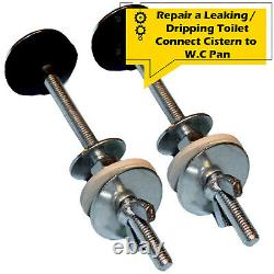Leaking Toilet Close Coupling Cistern Bolts Fixings Tank Pan WC Loo Water Bowl