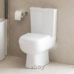 Micro Close Coupled Short Projection Toilet and Seat