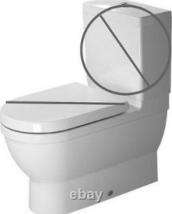 NEW Duravit Starck 3 Close-Coupled Toilet Less tank and lid Pickup / Freight