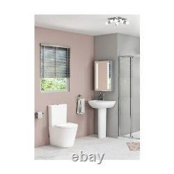 Newport Close Coupled Toilet and Basin Suite BUN/BeBa 25883/78119