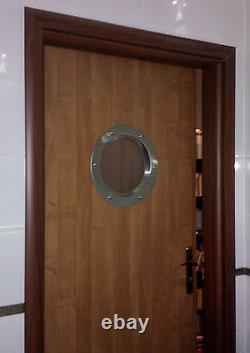 PORTHOLE BULL'S EYE FOR DOORS phi 350 mm. BEAUTIFUL. NEW