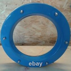 PORTHOLE FOR DOOR STAINLESS STEEL phi 350 mm COLORFUL