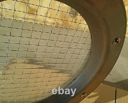 PORTHOLE FOR DOORS STAINLESS STEEL phi 350 mm New