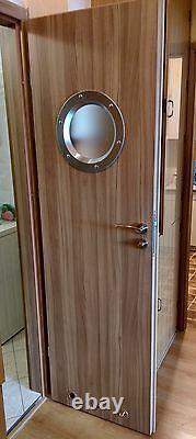 PORTHOLE FOR DOORS phi 350 mm. BEAUTIFUL. NEW