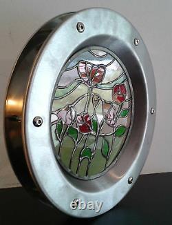 PORTHOLE FOR DOORS phi 350 mm. NEW. BEAUTIFUL