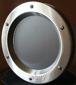 PORTHOLE STAINLESS STEEL FOR DOORS phi 350 mm. New
