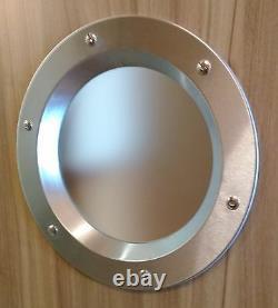 PORTHOLE VISION PANELS FOR DOORS phi 350 mm. New. Beautiful