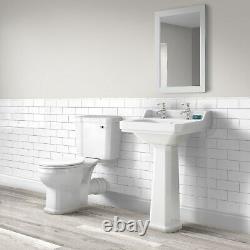Park Royal Close Coupled Toilet Suite with Basin BUN/NCS880/76987