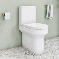 Pendle Comfort Height Coupled Toilet with Soft Close Wrap Seat
