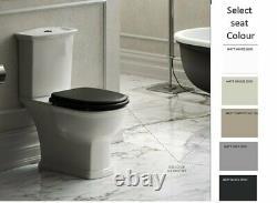 RAK Washington Close Coupled Full Access Toilet Pan WC Soft Close Seat