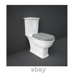 RAK Washington Close Coupled Full Access Toilet Pan WC Soft Close Seat P Trap