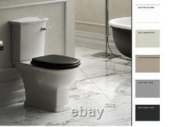 RAK Washington Close Coupled Toilet Pan WC Soft Seat Lever cistern