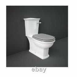 RAK Washington Close Coupled Toilet Pan WC Soft Seat Lever cistern P Trap