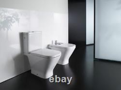 ROCA GAP Close Coupled WC Toilet Rimless WC & Cistern & Soft Closing Seat Option
