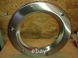 STAINLESS STEEL PORTHOLE VISION PANELS FOR DOORS phi 350 mm. Beautiful. New
