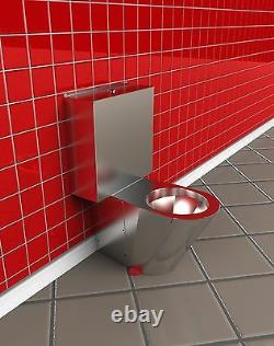 Stainless Steel Close Coupled Wc Suite P Trap W1008