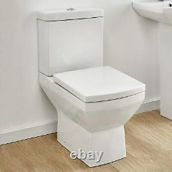 Tabor Close Coupled Toilet with Soft Close Seat