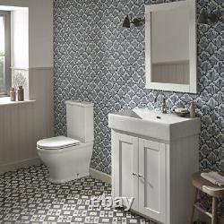 Toilet Seat Easy Flush Tavistock Fully Enclosed Coupled WC Set Valve Heavy Duty