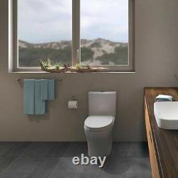 Toto CST446CUMFG#01 Cotton White Aquia IV Close Coupled Toilet Elongated