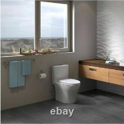 Toto MS446124CEMFG#01 Aquia IV Close Coupled Toilet Cotton White, 1.28