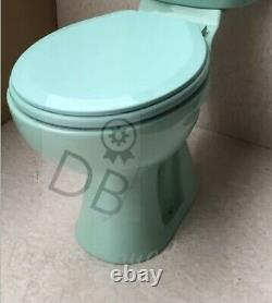 Turquoise Toilet Pan Close Coupled