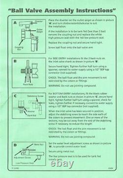 Twyford Close Coupled Bottom Entry Toilet Cistern 16 Piece Kit FREE Service Valv
